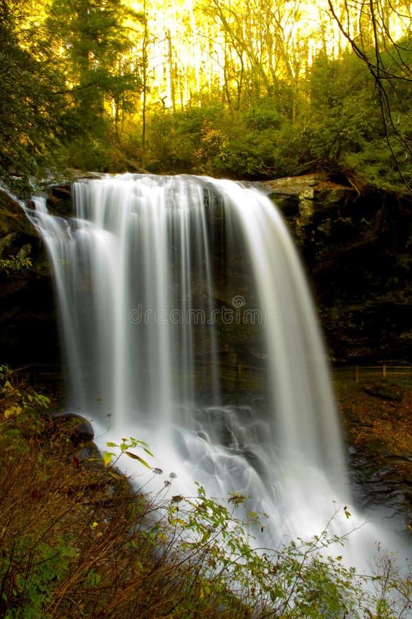 milky vattenfall royaltyfri fotografi