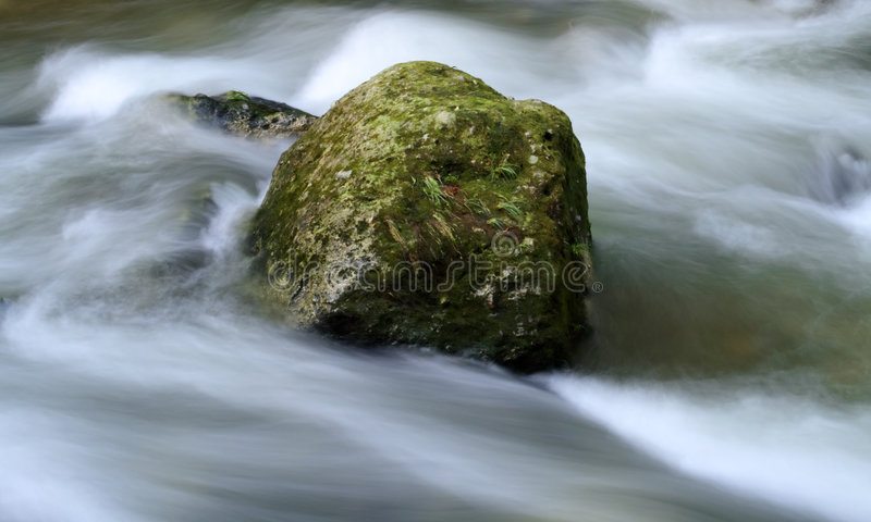 Milky Water Torrent Royalty Free Stock Photography