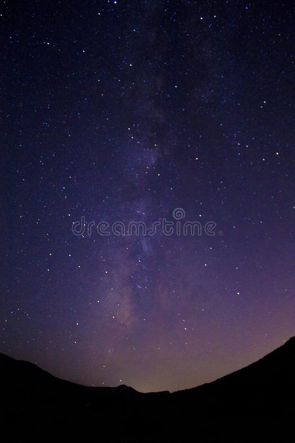 Free Milky Way And Mountains Royalty Free Stock Photos - 97851398