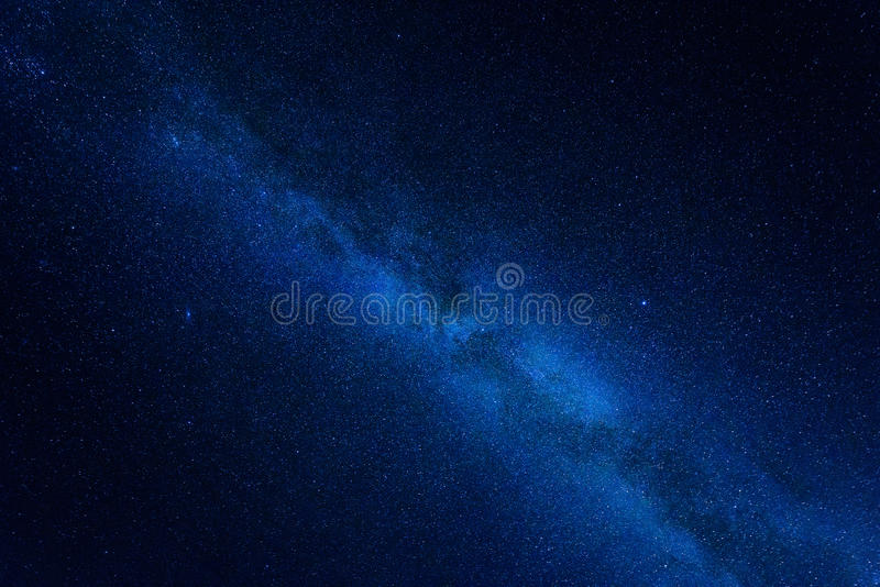 Milky Way Center Stock Photography