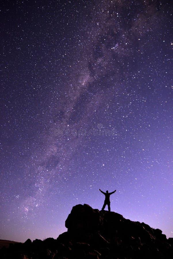 Free Milky Way Freedom Stock Image - 43475201