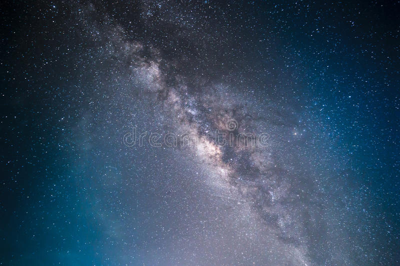 The Milky Way This is a galaxy near Earth most. stock image