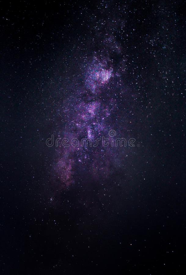 Milky way galaxy with stars and space dust in the universe, stock photography