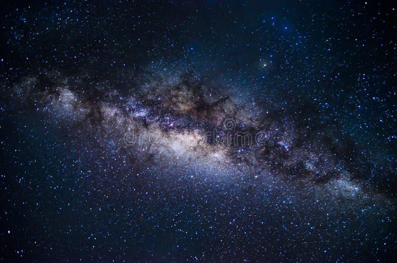Milky Way of Krakal Beach Yogyakarta stock photo
