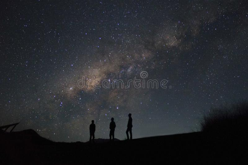 Milky way royalty free stock photos