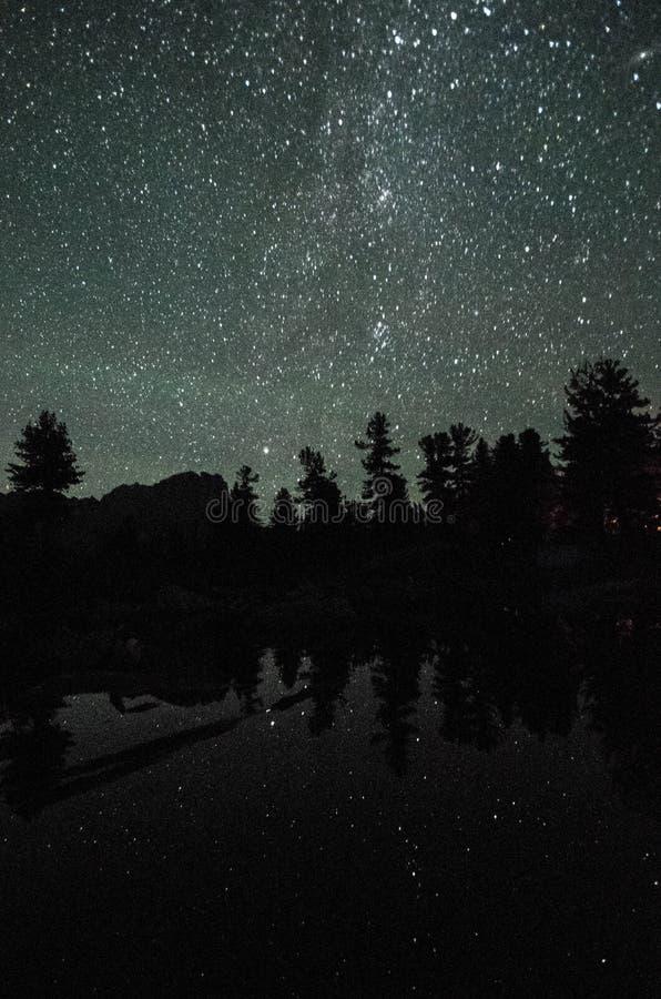 Sky full of stars stock image