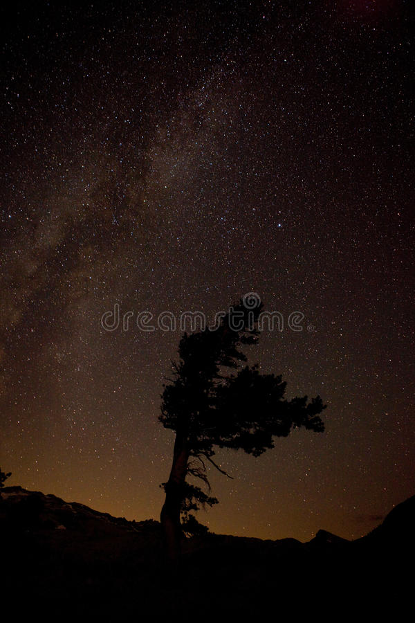 Download Milky Way Over Desolation Wilderness, California Stock Image - Image: 31397471