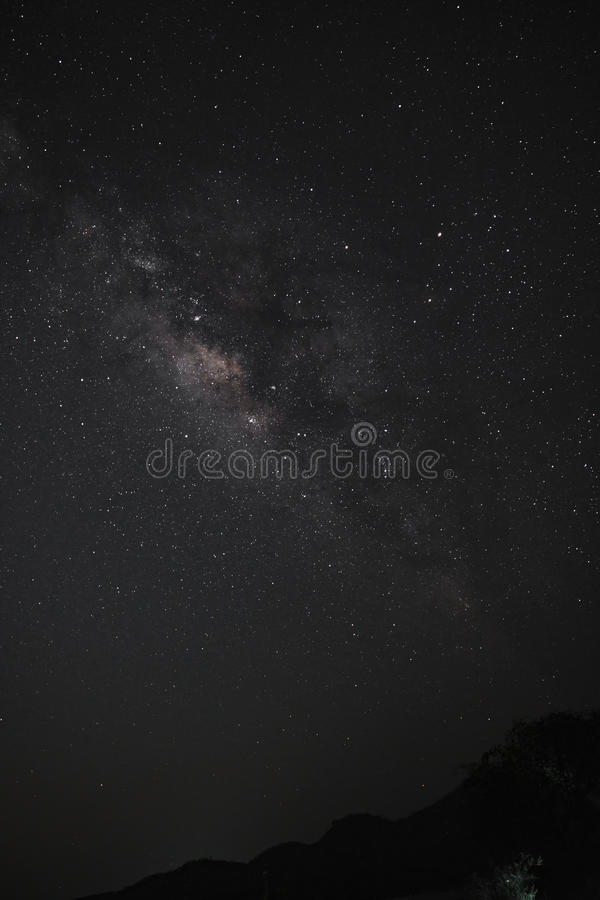The Milky Way. royalty free stock images