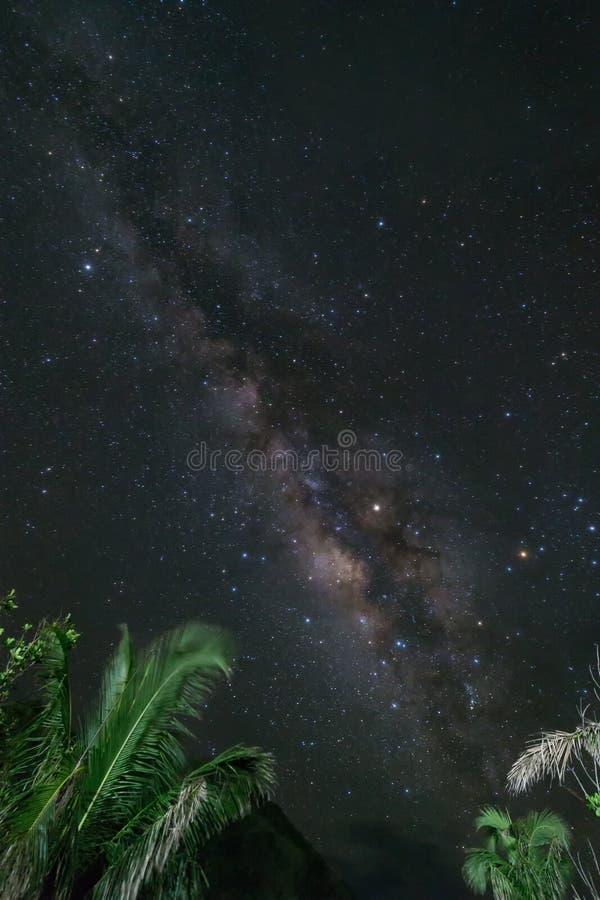 Milky Way Rising stock photo