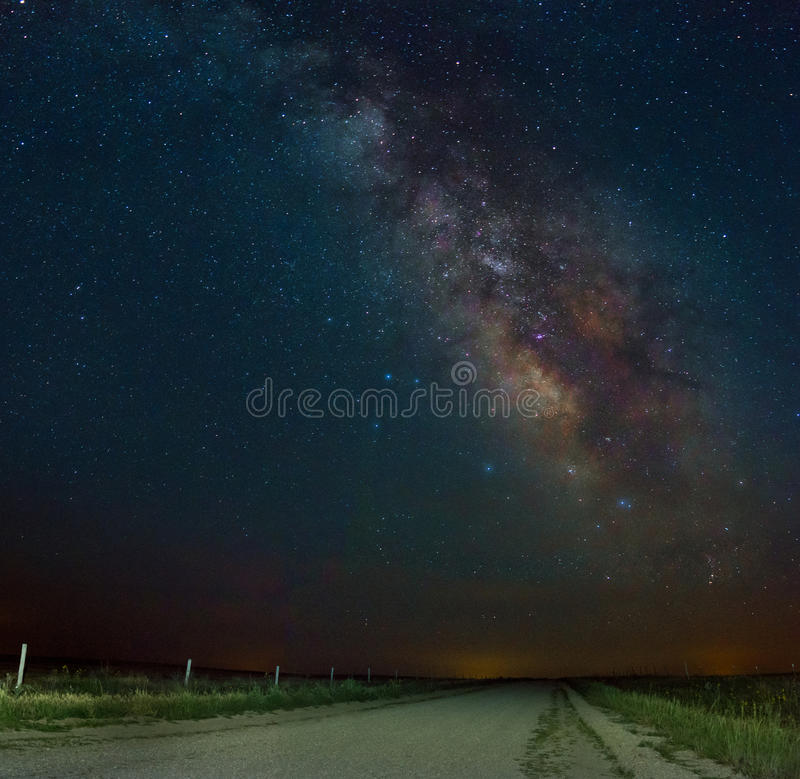 Milky Way stock image