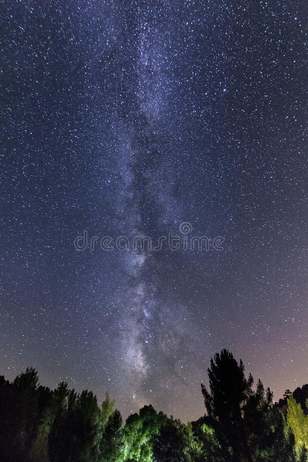 The Milky Way royalty free stock images