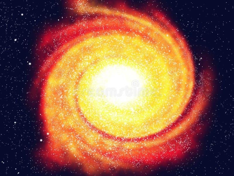 Milkyway ilustración del vector