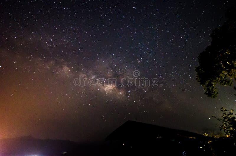 Milkyway stock fotografie