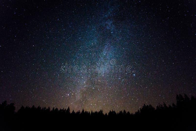 Milkyway royaltyfria foton