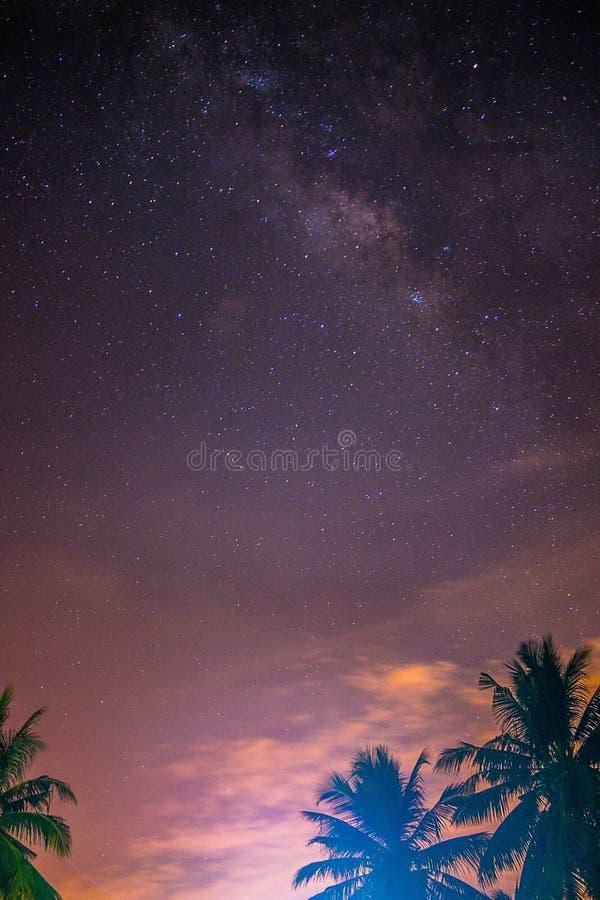 Milkyway fotografia stock libera da diritti
