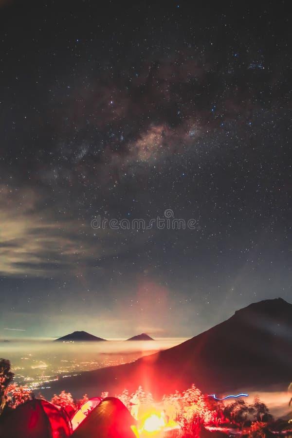 Milkyway brand arkivbilder