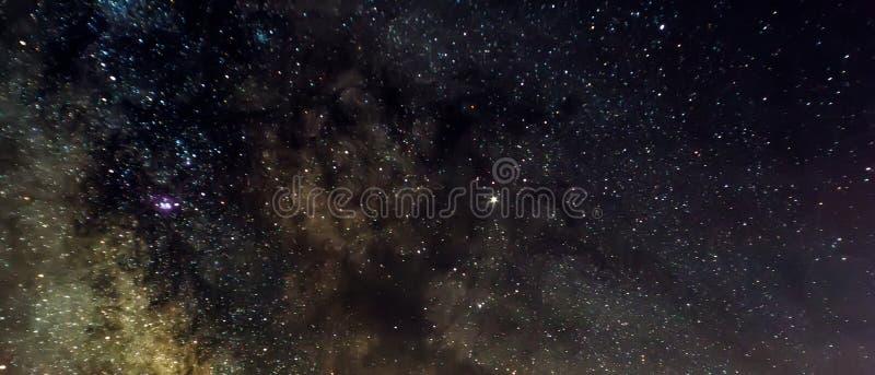 Milkyway centrum zdjęcie stock