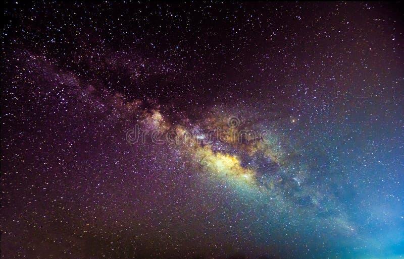 Milkyway galax royaltyfri bild