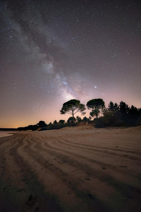 Milkyway madness season. Love, beautiful, office, prints, canon, sand, beach, stars, lights, like, night, photography stock photography