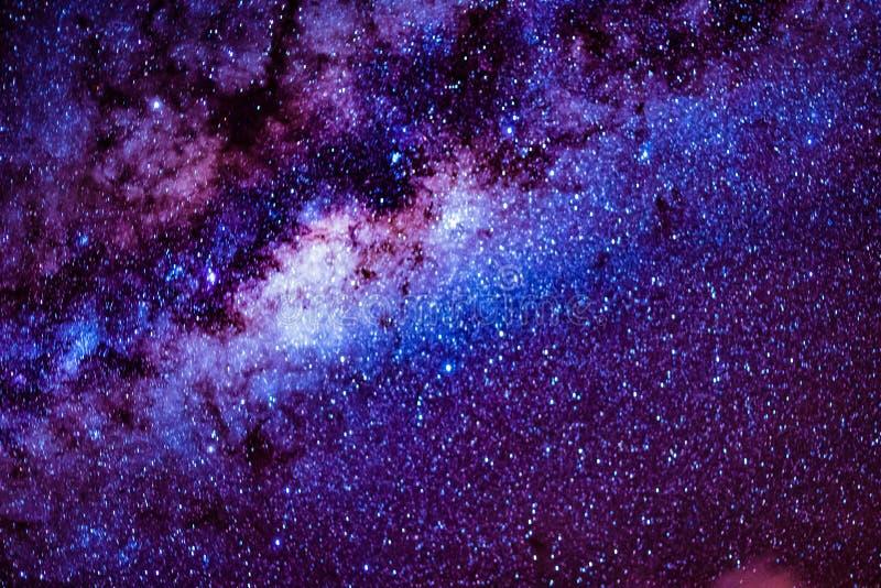 Milkyway royaltyfria bilder