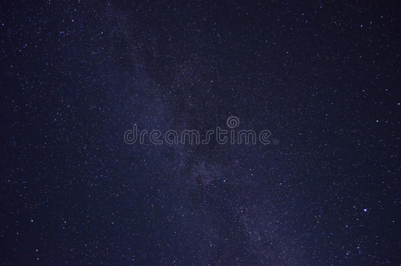 Milkyway. Star cluster in night royalty free stock photos