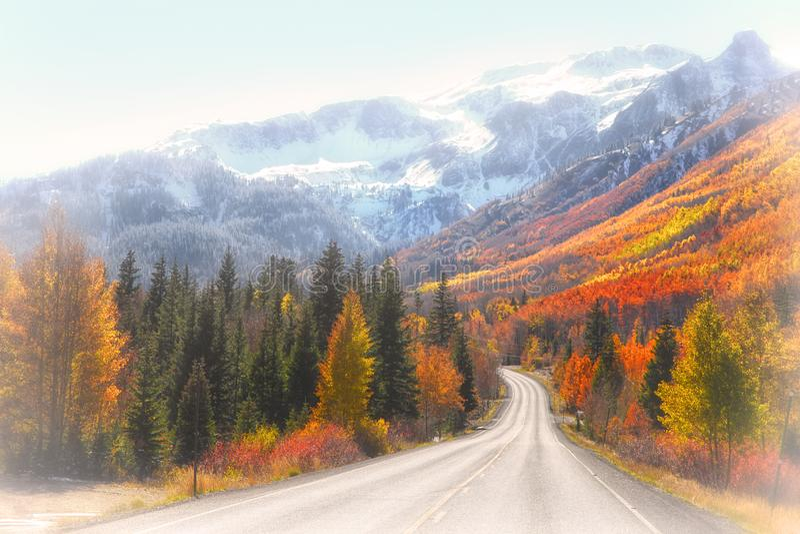 Millón de carreteras del dólar fotografía de archivo