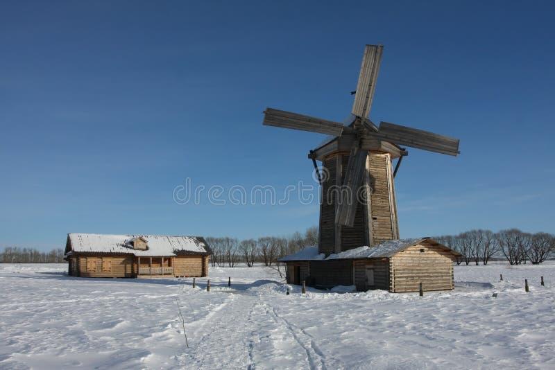 Mill stock photo