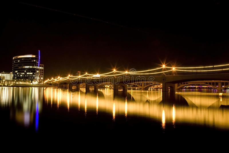 Mill Avenue Bridge stock photography