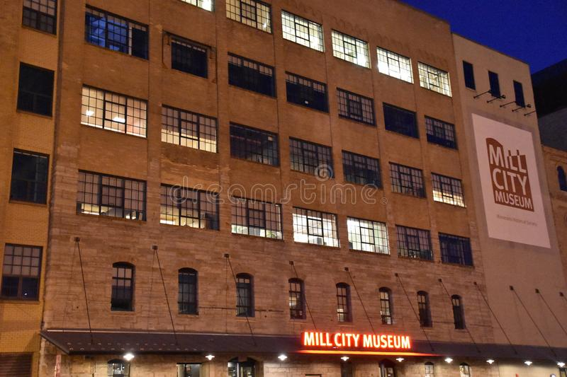 Mill City Museum in Minneapolis royalty free stock photos