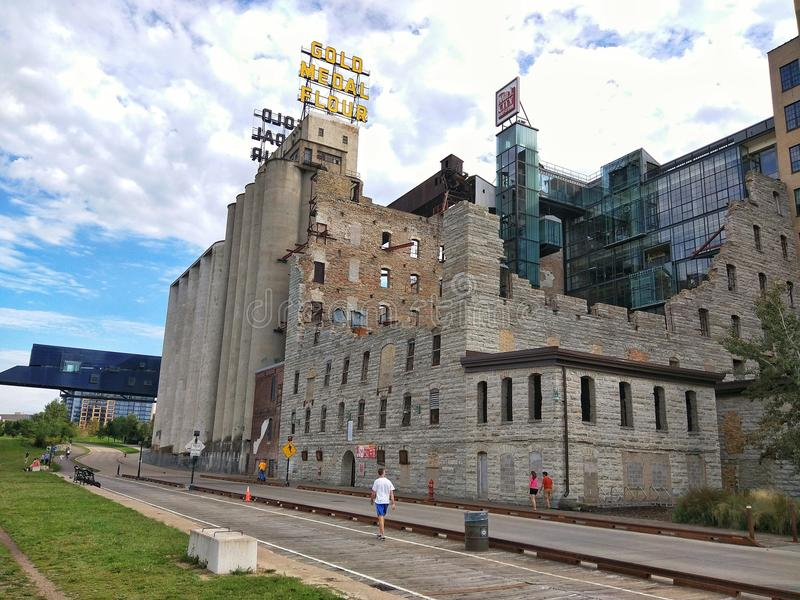 The Mill City Museum royalty free stock images