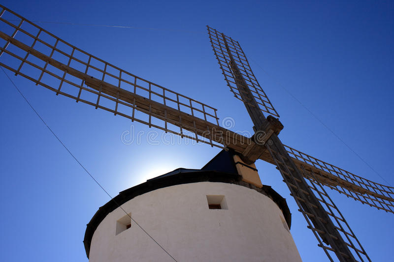 Mill in Spain royalty free stock photography