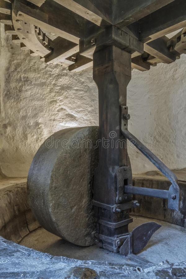 Download A Mill Wheel At An Old Olive Mill In Northern Corsica Stock Photography - Image: 37451872