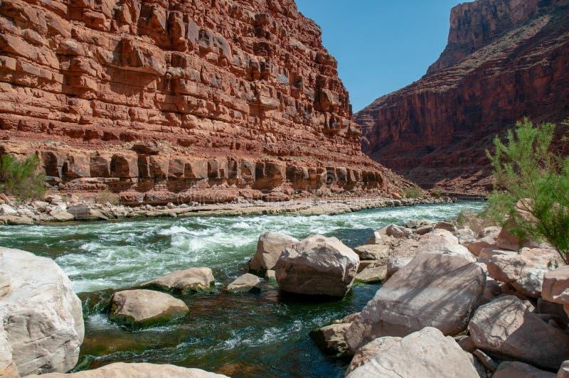 Milla 21 del río imagenes de archivo
