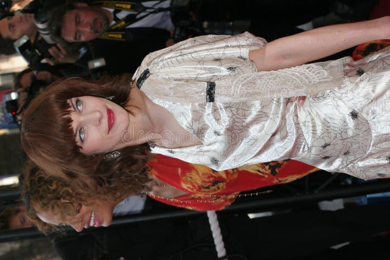 Milla Jovovich stock image