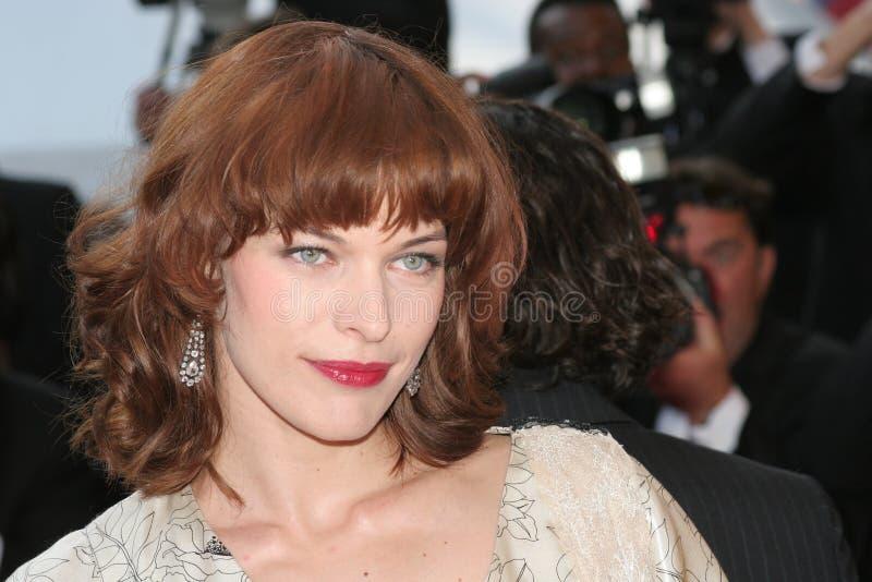Milla Jovovich imagem de stock royalty free