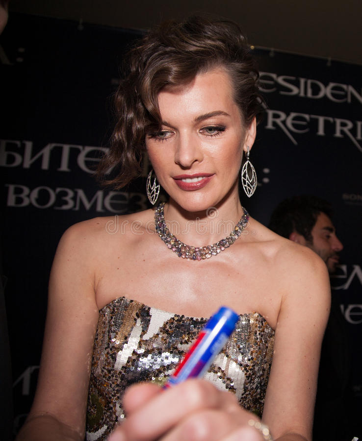 Download Milla Jovovich editorial image. Image of fortune, event - 26705045