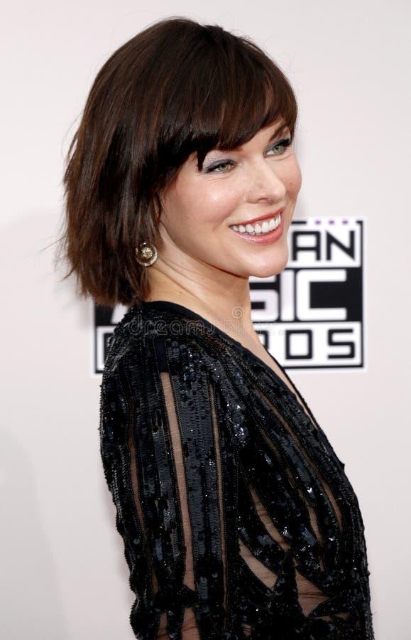 Milla Jovovich royalty free stock photos