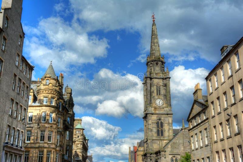 Milla real de Edimburgo fotos de archivo