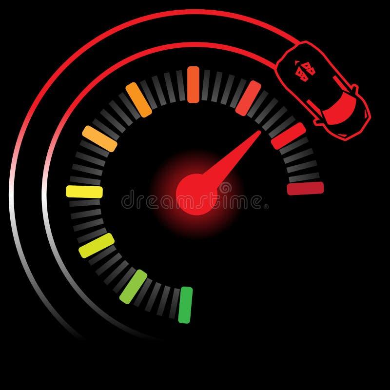 milla turbo, ejemplo EPS 10 stock de ilustración