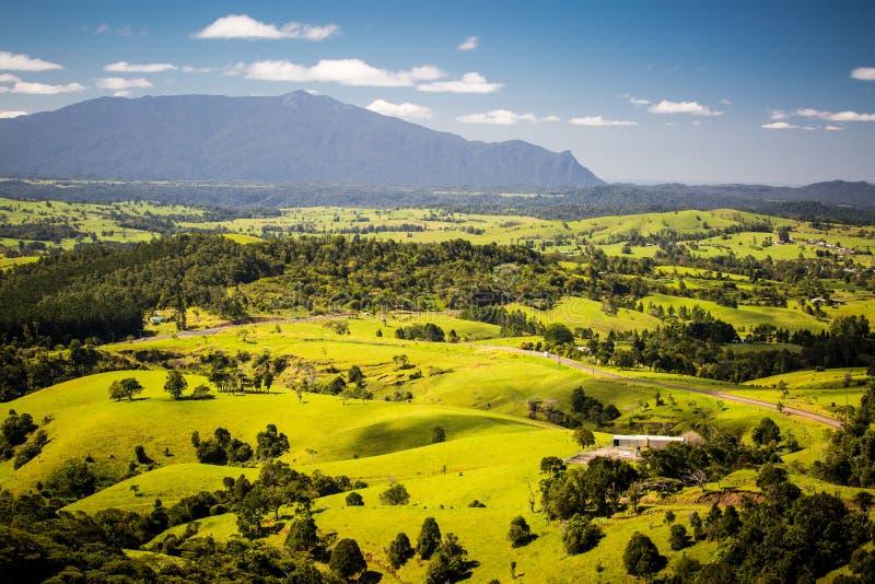 Millaa Millaa View. A stunning view point near Millaa Millaa over the Atherton Tablelands in Queensland, Australia royalty free stock image