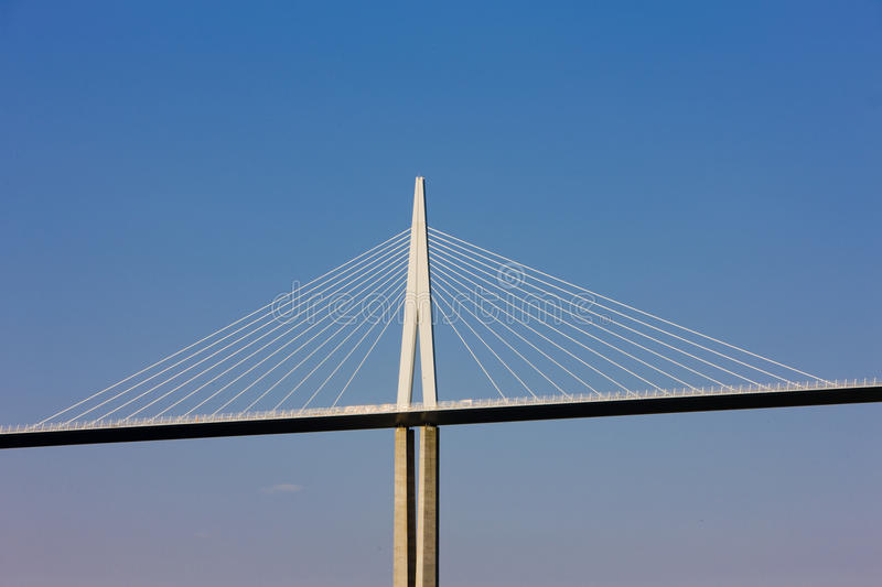 Download Millau Viaduct editorial photo. Image of detail, pier - 14862306