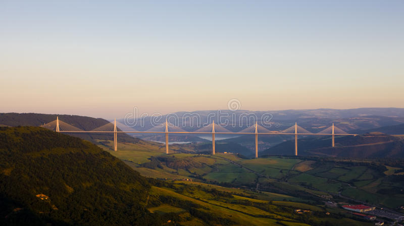 Download Millau Viaduct editorial photo. Image of travelling, france - 14862316