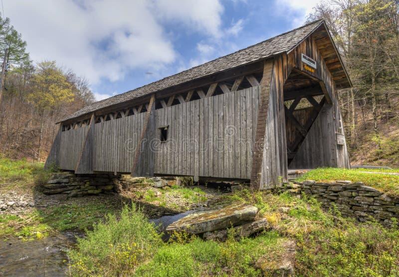 Millbrook bro arkivfoto