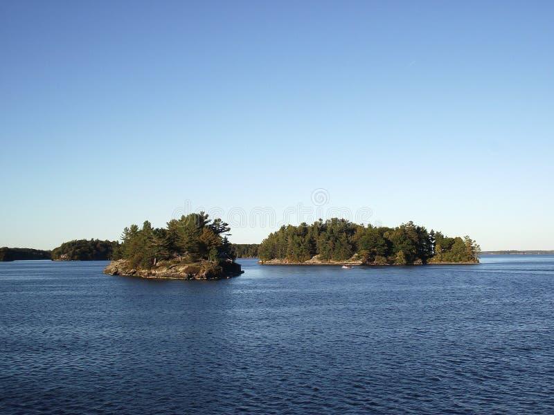 Mille îles et Kingston dans Ontario, Canada photo stock