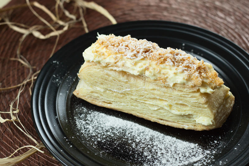 Mille-feuille stock photography