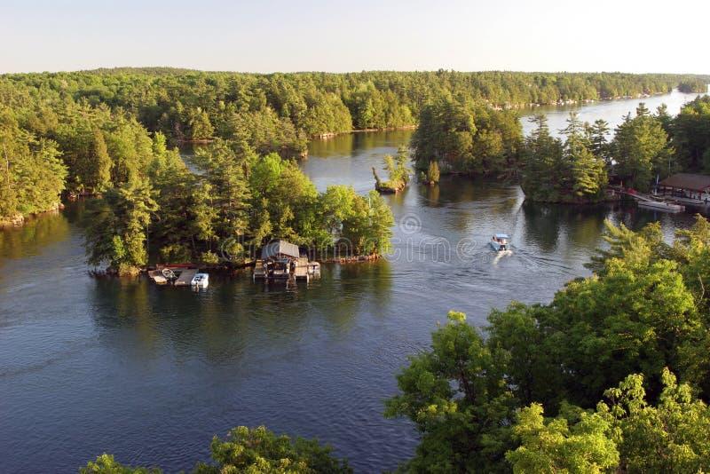 Mille isole, Ontario, Canada fotografie stock