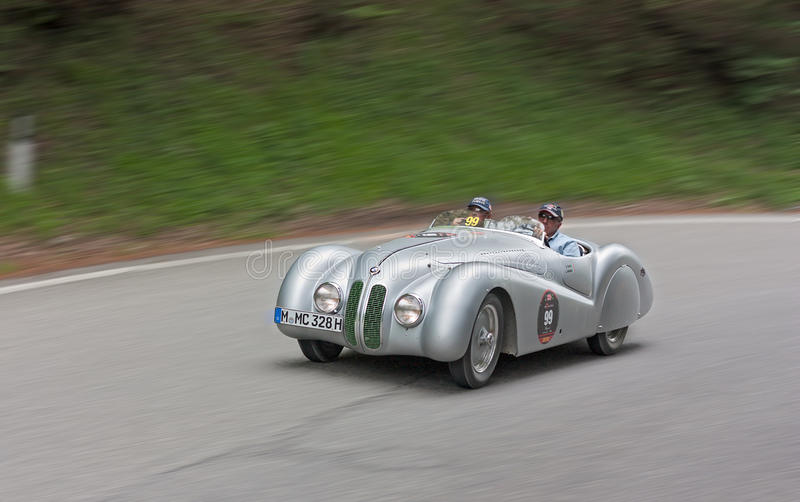 Mille Miglia 2012 στοκ φωτογραφία με δικαίωμα ελεύθερης χρήσης