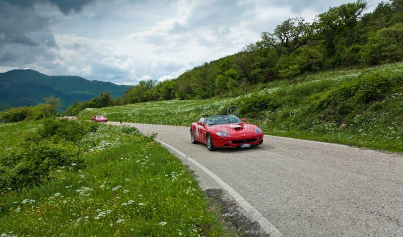 ?Mille Miglia? Gedenkrennen 2010 lizenzfreies stockfoto