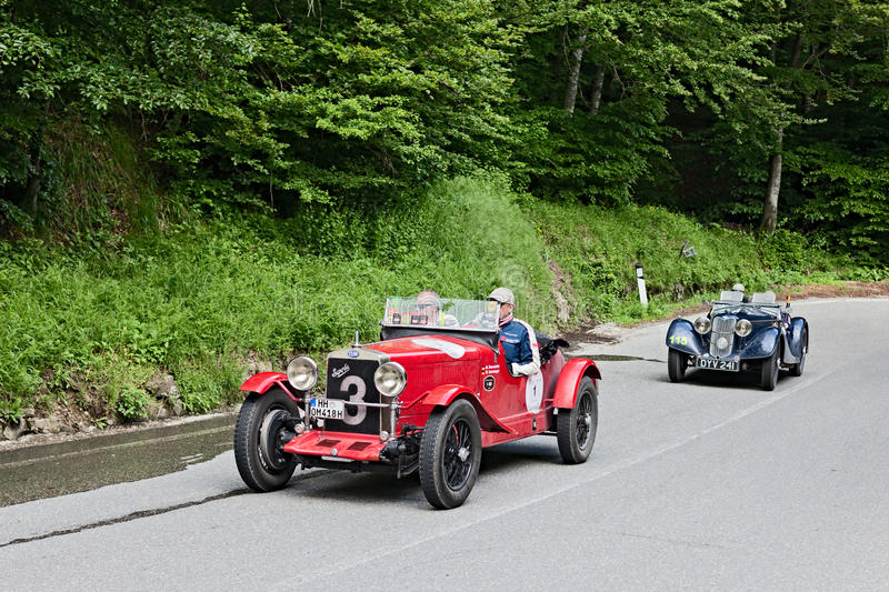 Mille Miglia 2013 royalty free stock images