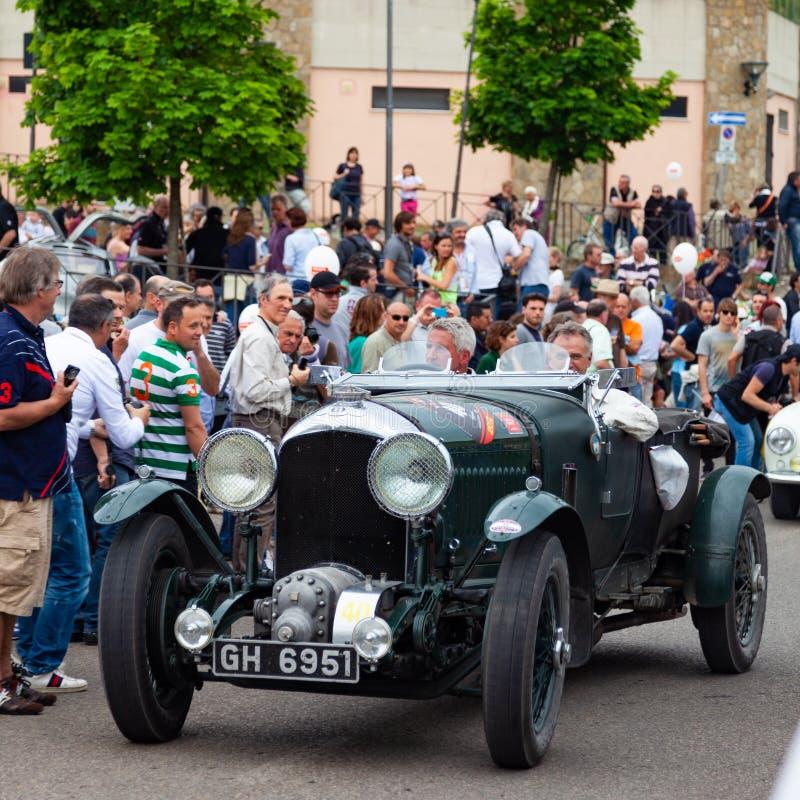 Mille Miglia Race arkivfoto